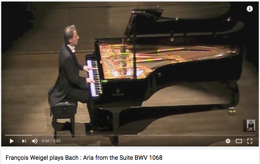 Bach : Aria from the Suite BWV 1068